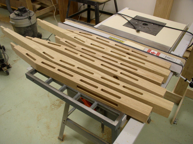 Dempsey Woodworking King Size Bed