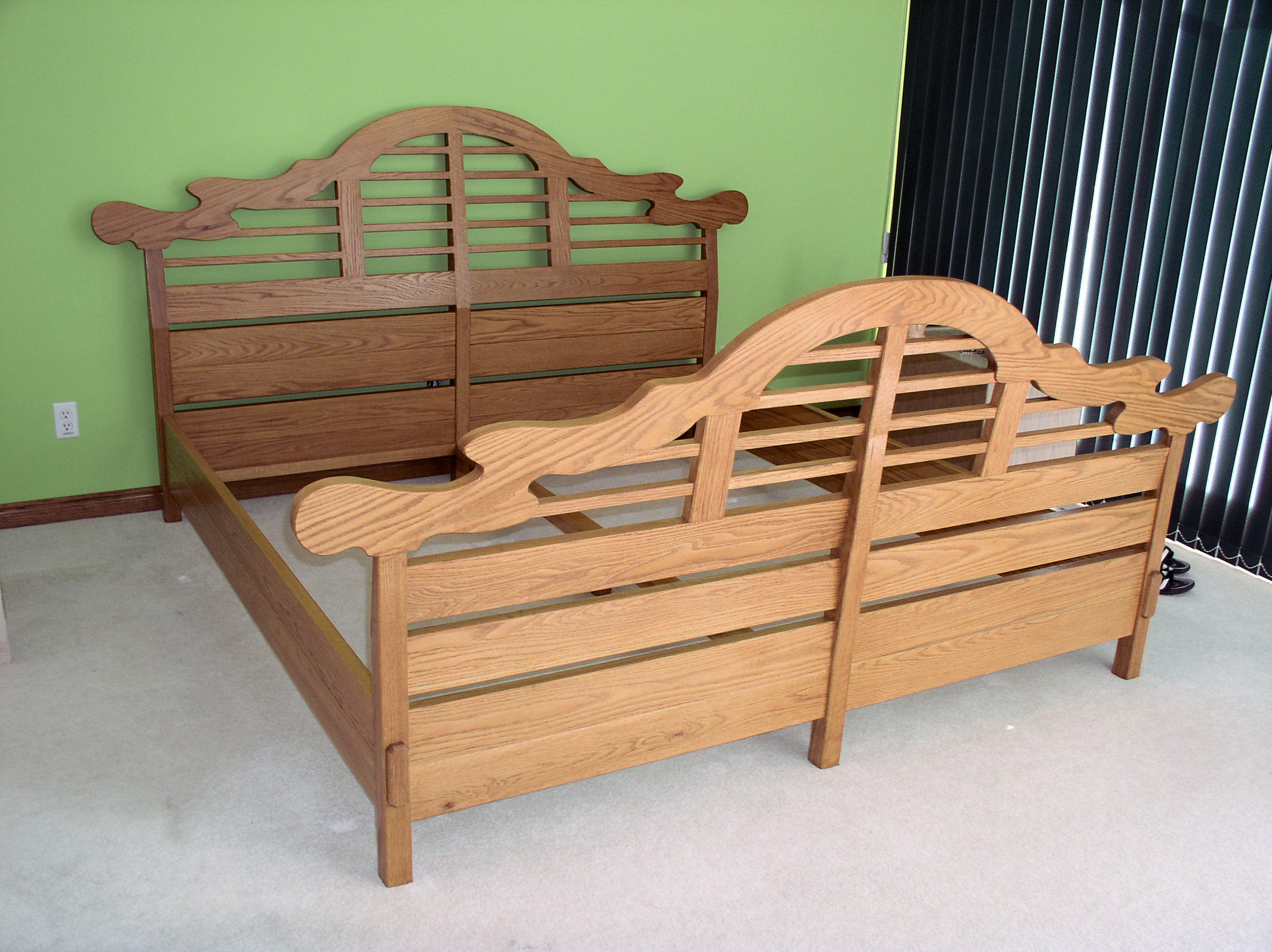 simple sized size rfa bedroom cgtrader king free models interior bed model