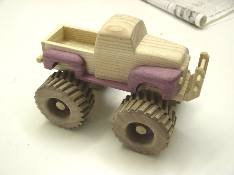 Wooden Monster Truck Plans
