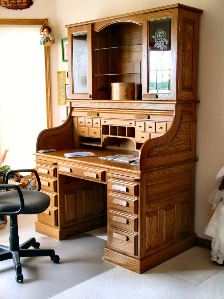 roll top desk construction plans