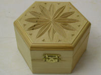 Chip carved box