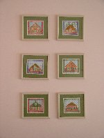 Dutch Farm House -- set of 6