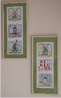 Dutch Windmill -- set of 2