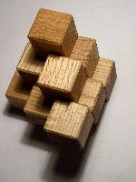 three-piece block puzzle